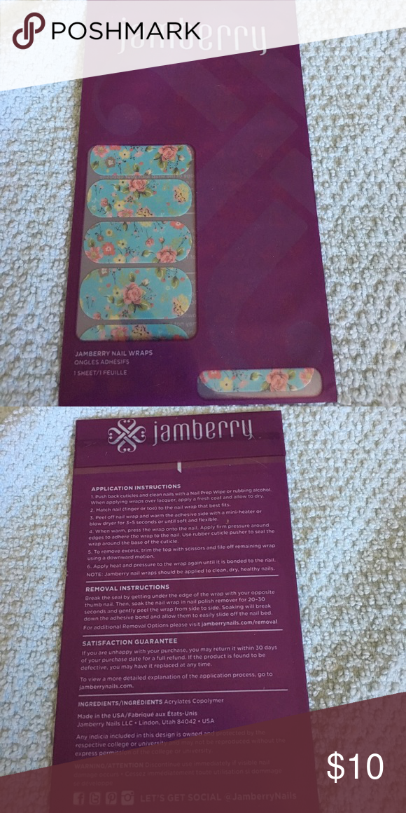 Jamberry Nail Wraps NWT