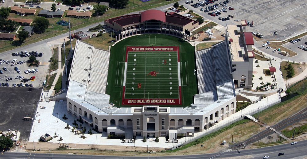 Texas State Stadium Football Stadiums Pinterest