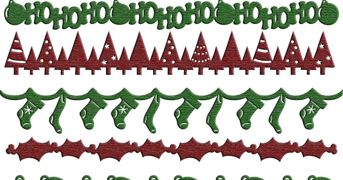 Download Free SVG Christmas Borders | Christmas svg files ...