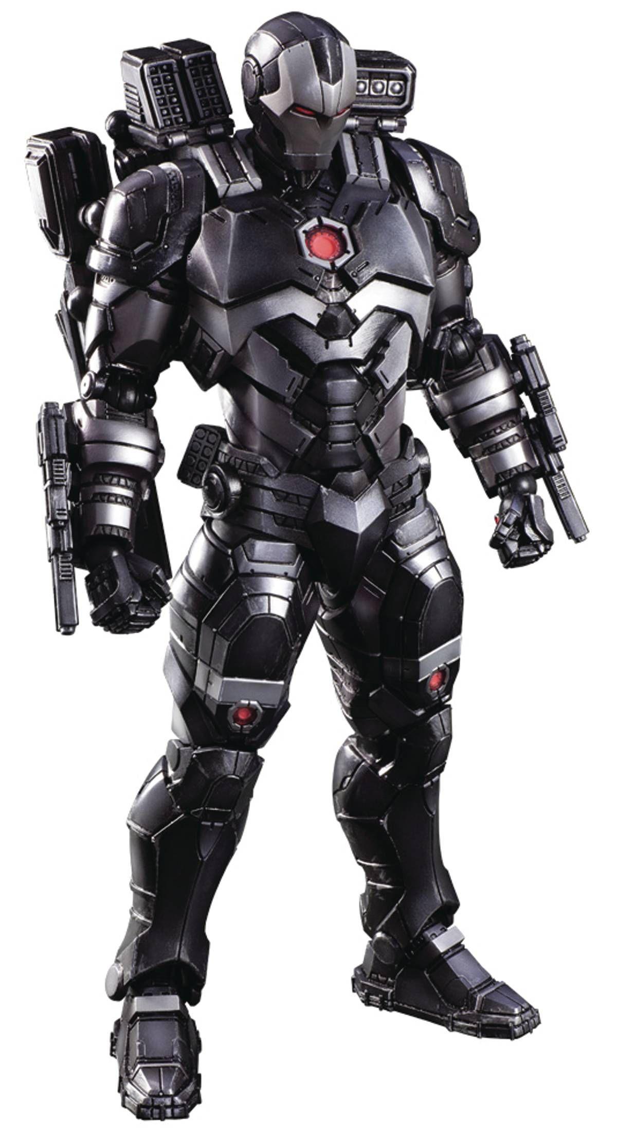 War Machine Play Arts Kai War Machine Iron Man Iron Man Armor Iron Man Avengers