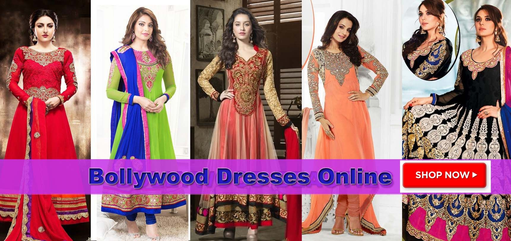 BOLLYWOOD dresses