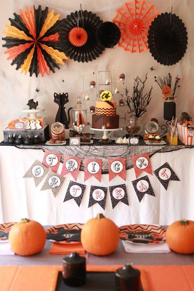 Halloween \ - kids halloween party ideas