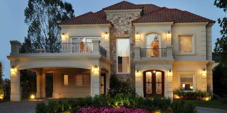 Fachadas de casas architecture pinterest fachadas for Viviendas modernas fachadas