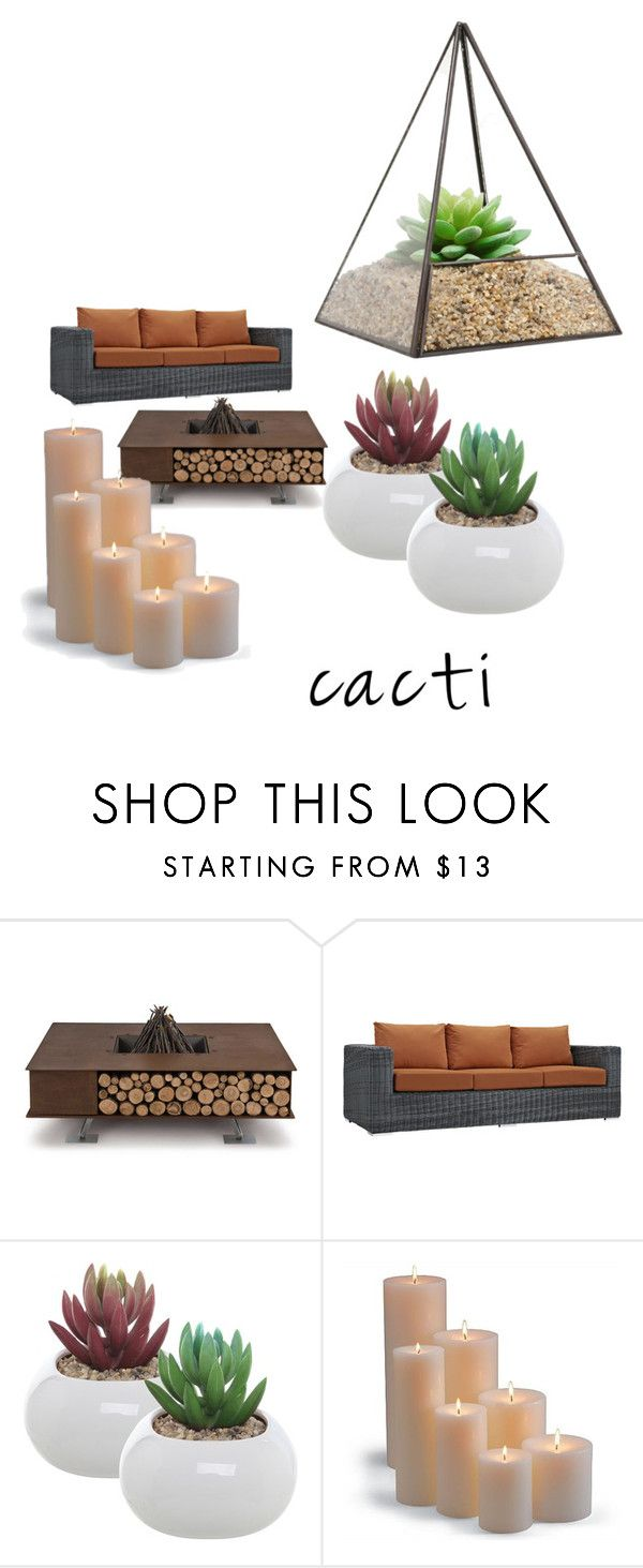 """untitled"" by gmodise ❤ liked on Polyvore featuring interior, interiors, interior design, home, home decor, interior decorating, AK47, Dot & Bo, Frontgate and succulents"