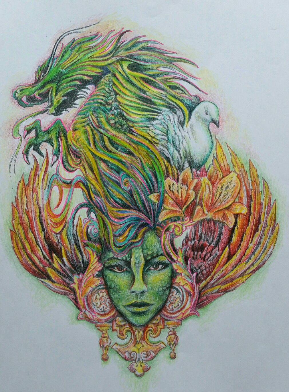 Artist Bennett Klein Colourist Sarah Hunter Kleurplaten Tekenen