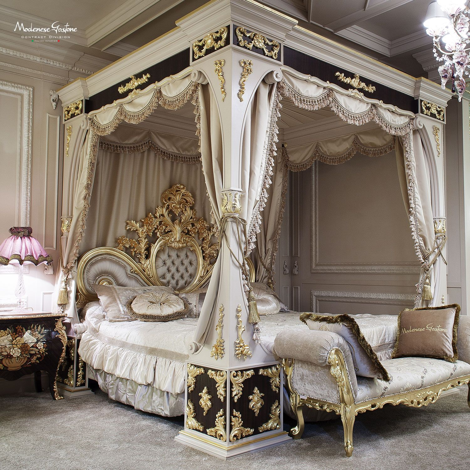 Luxury Home Interior Bed: A House In The Country