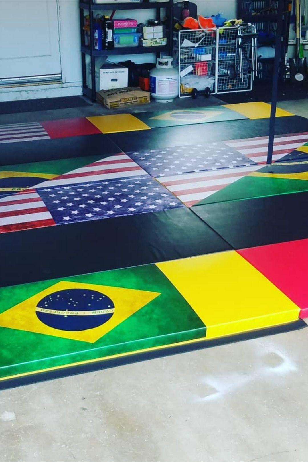 Impact Safe Brazilian Jiu Jitsu Grappling Mat 6 X 12 X 2 Grappling Mats Martial Arts Mats Mma Mat