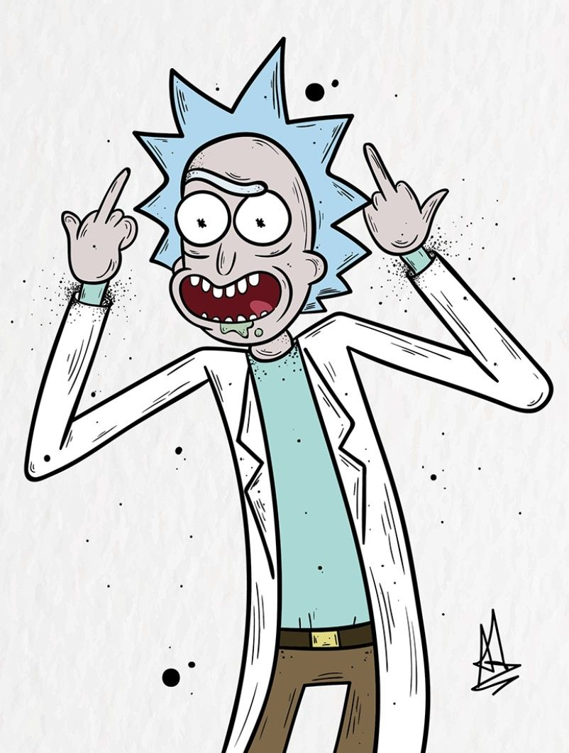 Pin By Aom Noi On Netflix Rick And Morty Poster Rick And Morty Tattoo Rick And Morty Quotes