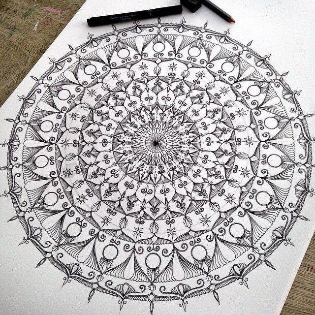 Mandala zen tang le Pinterest Mandalas, Dibujo y Estampados