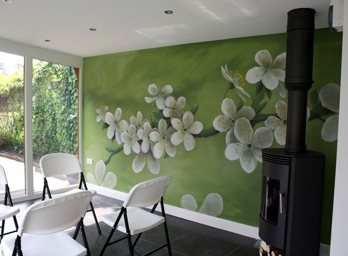 Professional wall murals airbrushed murals and other for Airbrushed mural