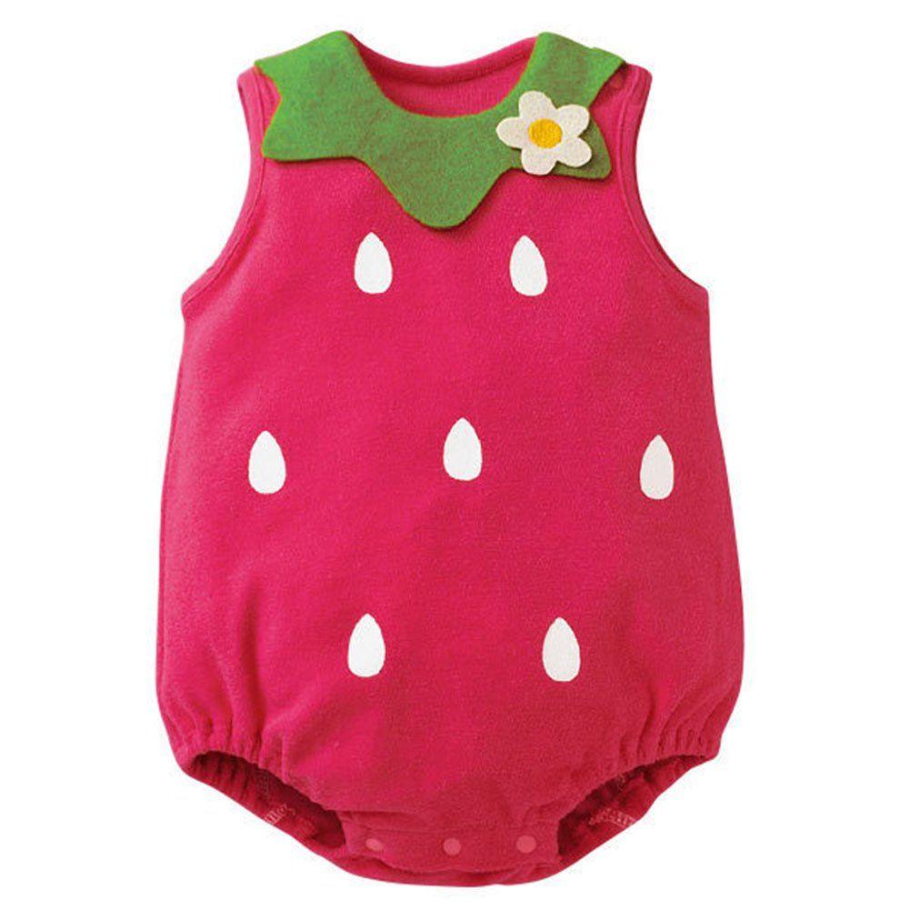 Amazon.com: Norbi Cute Newborn Baby Comfy Romper Bodysuit: Clothing