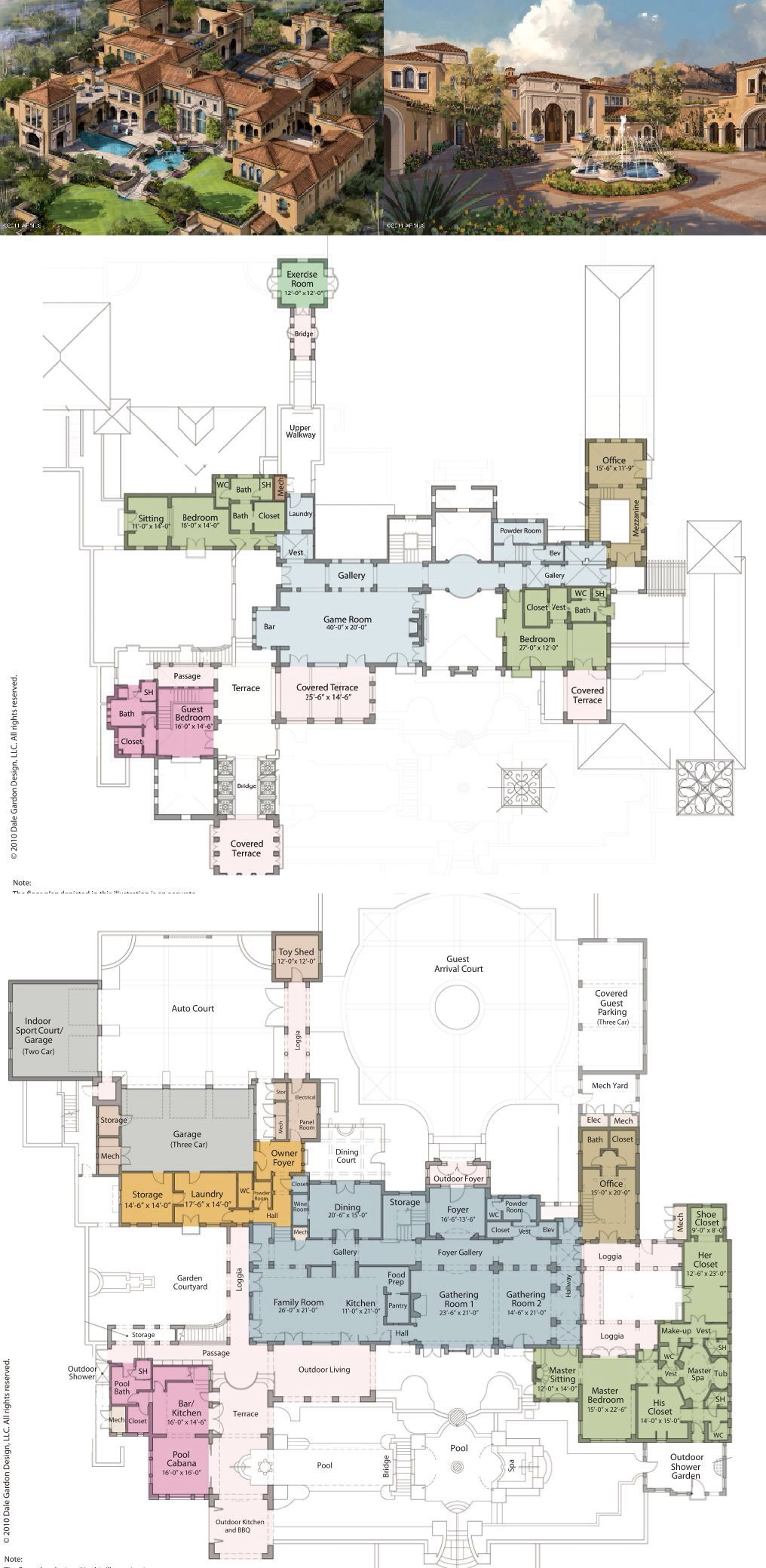Mansions More Incredible Arizona Mansion To Be Built In 2014 House Plans Mansion Mansion Floor Plan Luxury Floor Plans