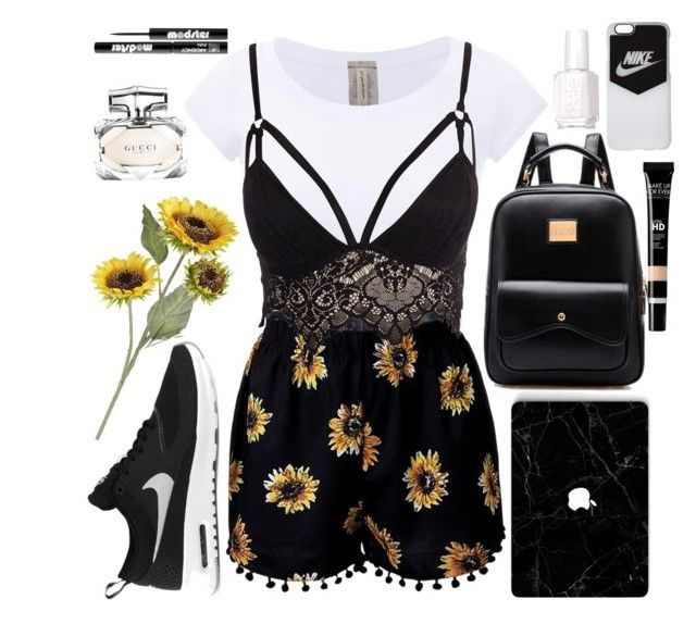 """And when the flower blooms, something else will show to represent how our love has grown"" by wwtiff ❤ liked on Polyvore featuring Club L, NIKE, Essie, Pier 1 Imports, Gucci and Ardency Inn"