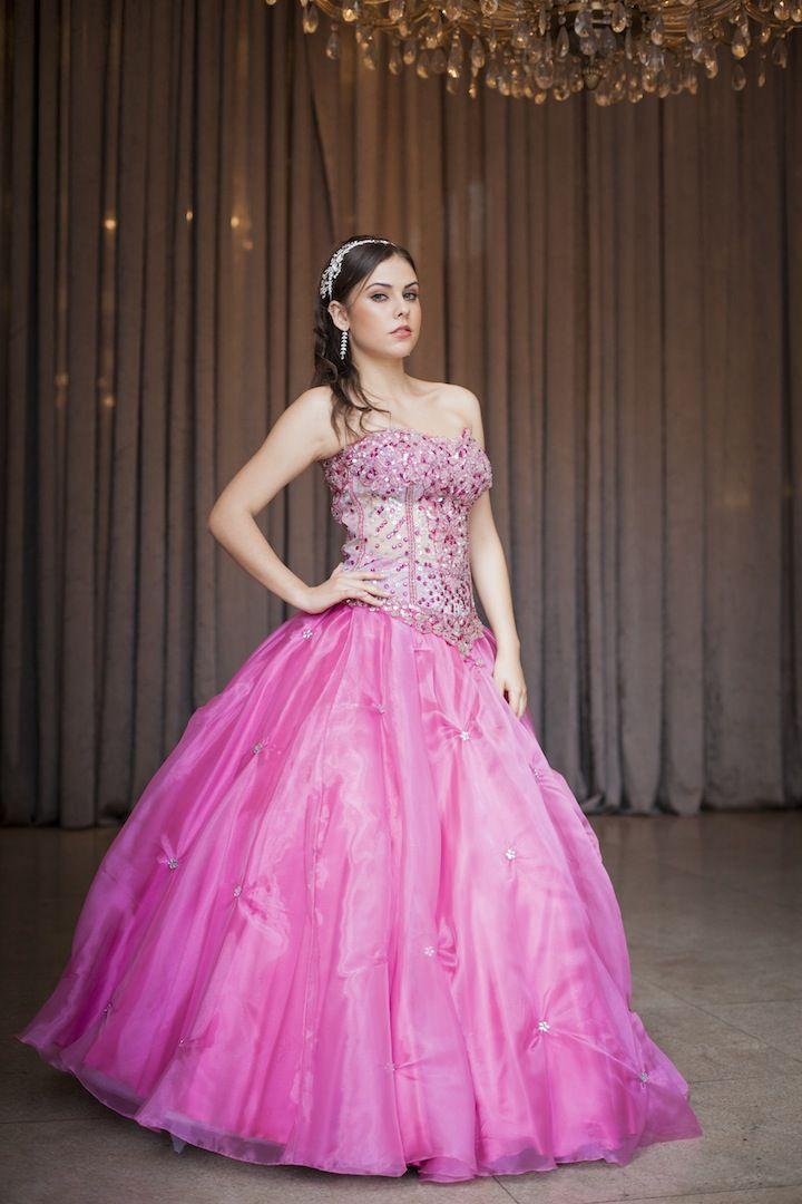 Vestido de debutante pink | Your Pinterest Likes | Pinterest | Pink ...