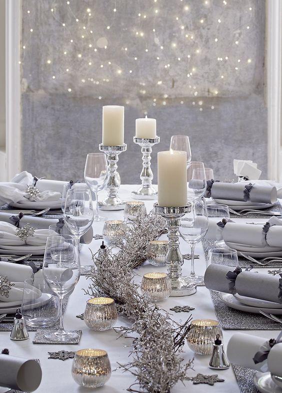 THEE D/écoration de No/ël Sets de Table de Salle /à Manger