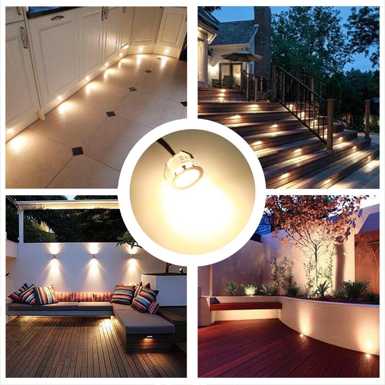 recessed led deck lighting kits 12v low
