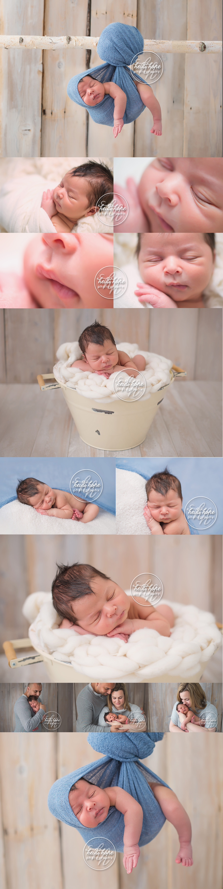 boston | newborn photographer | classic | baby boy | blue | heidi hope photography studio
