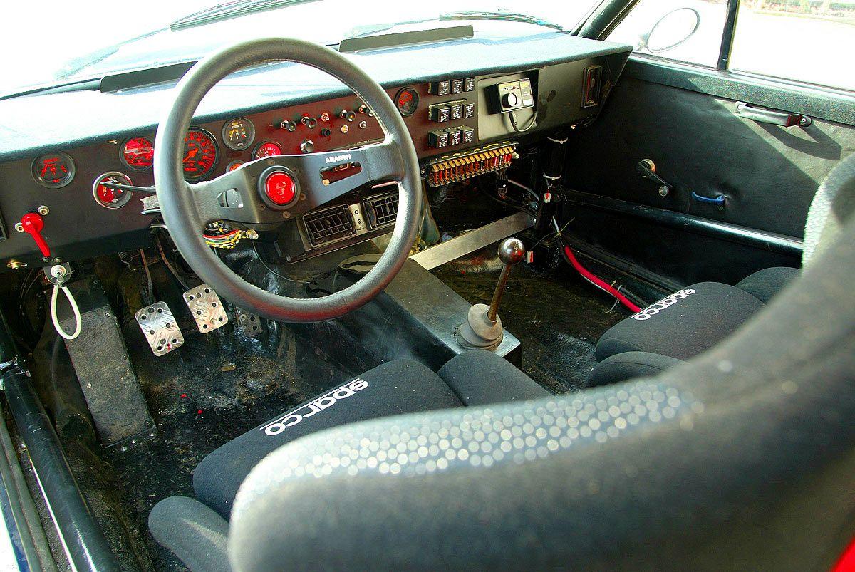Carinteriors Fiat 131 Abarth Voiture De Rallye Com Imagens