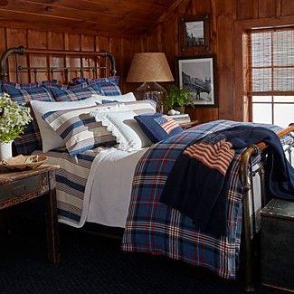 Ralph Lauren Saranac Peak Collection Bloomingdale S Plaid Comforter Ralph Lauren Bedroom Home Decor