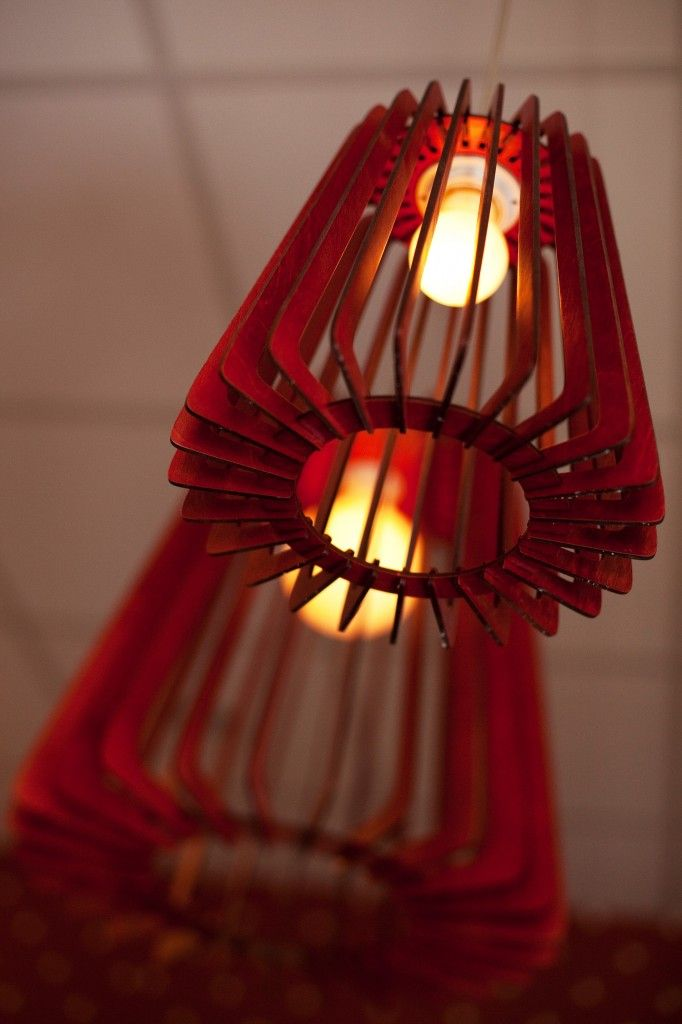 Laser cut lamp shade Laser cut lamp