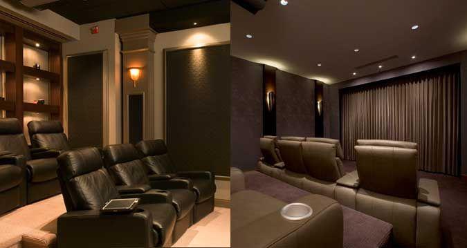 Pin de karen inna en salas de cine en casa pinterest - Sala cine en casa ...