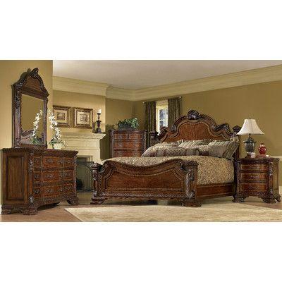 A.R.T. Old World Panel Customizable Bedroom Set U0026 Reviews | Wayfair