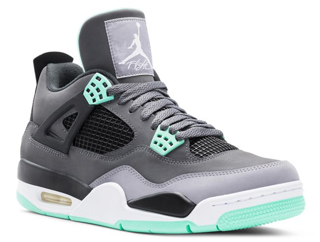 save off a01fa bc257 Air Jordan Retro 4 s with my fave color mint !  Yup