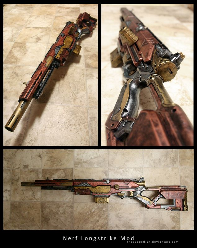 Nerf Longstrike CS-6 by thegadgetfish.deviantart.com on @deviantART