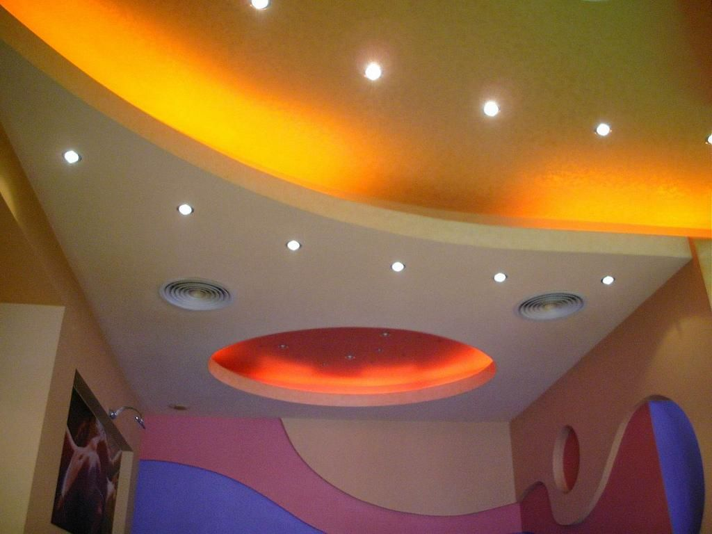 I M Always In Search Of Creative Ways To Slip Fun Color Right Into A Client S Residence It Can Be Challe Colored Ceiling Home Lighting Design Ceiling Painting