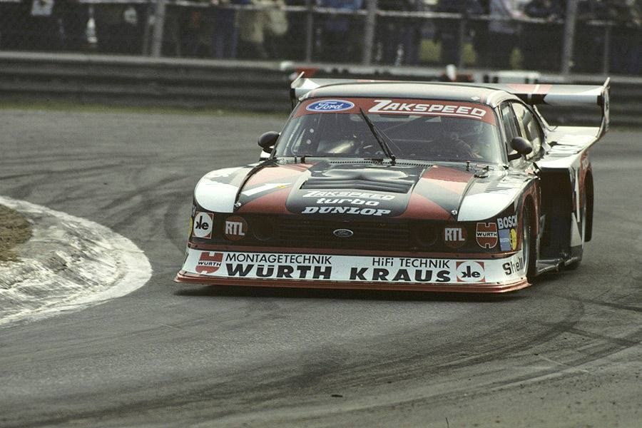 The Zakspeed Capri Ford Turbo Ford Capri Ford Turbo Ford