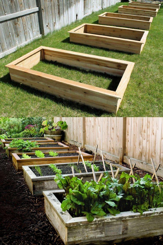 28 Best Diy Raised Bed Garden Ideas Designs Garden Planter Boxes Diy Raised Garden Backyard Vegetable Gardens