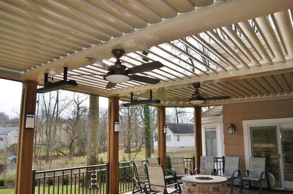 louvered pergola Google Search Pergola plans roofs