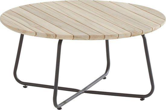 4 Seasons Outdoor Axel Coffee Table Teak Round 73 Cm H 35 Cm In 2020 Koffietafel Teakhout Tuintafels