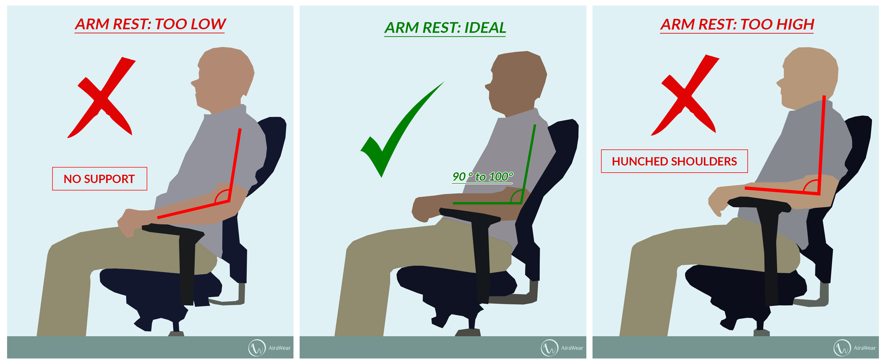 Office Chair Neck Pain Morris Chairs For Sale Top 10 Best Back And With Comparisons 2018