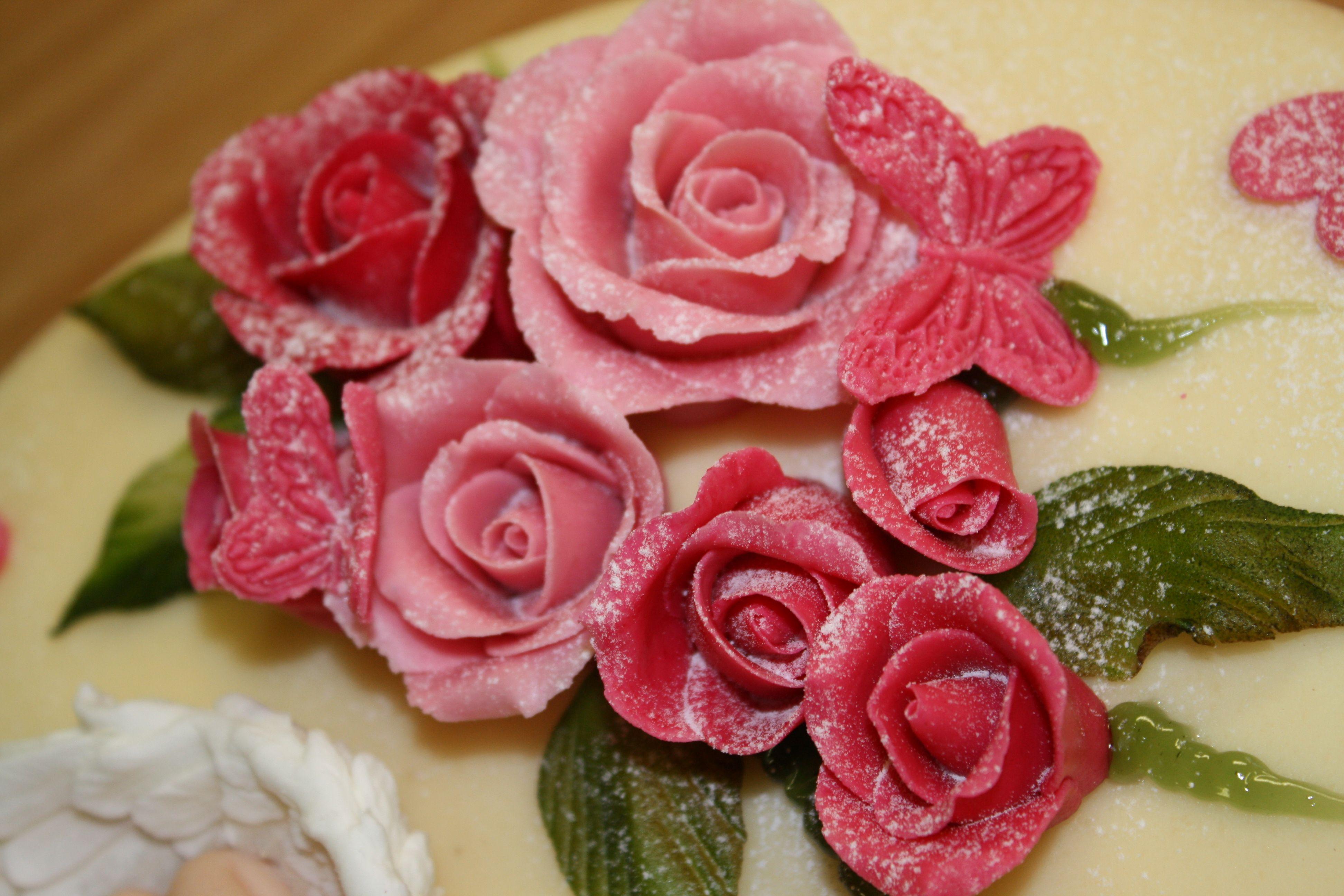 marsipan roser