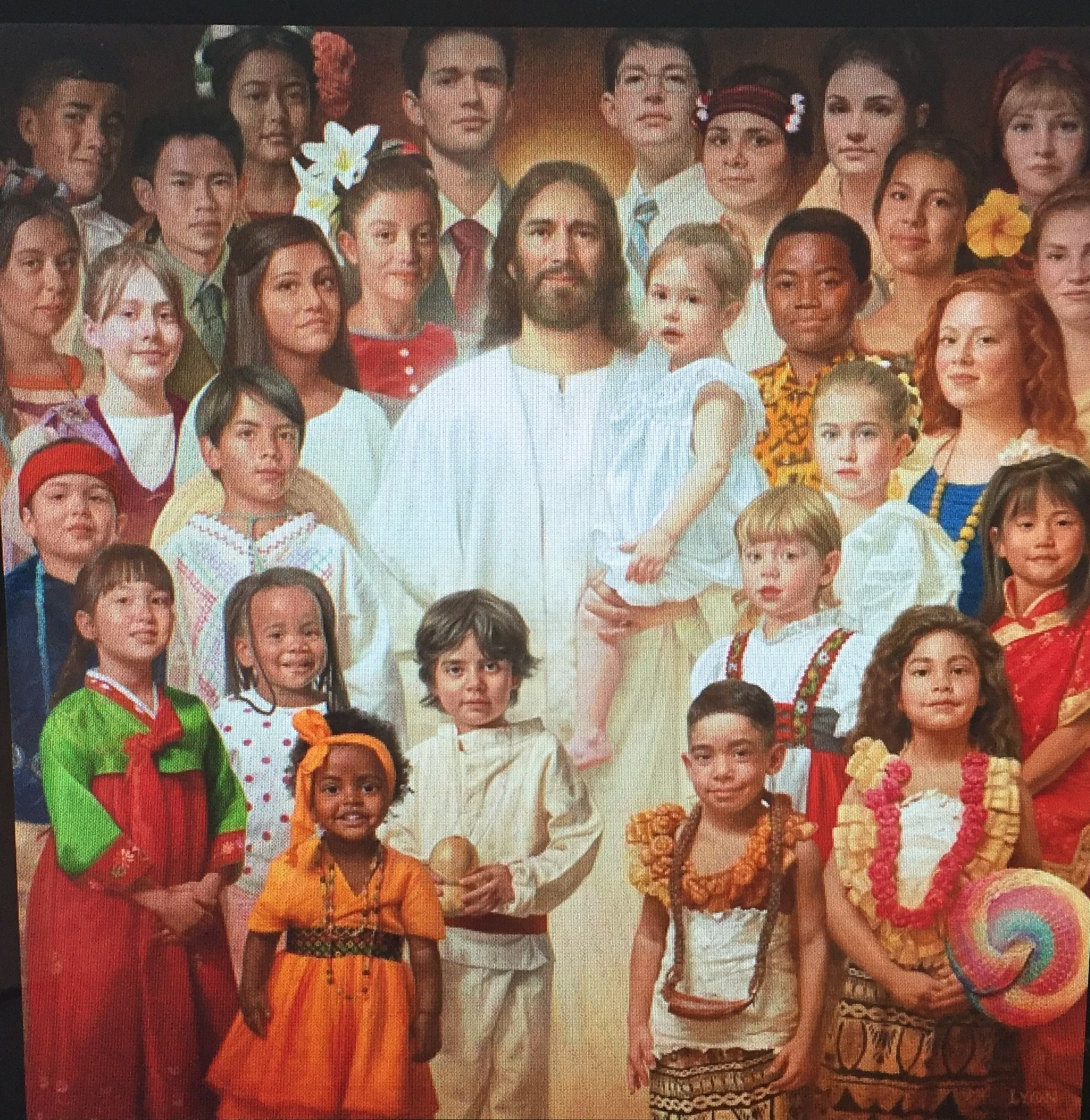 This picture says it all! We are all God's children... | Christ ...