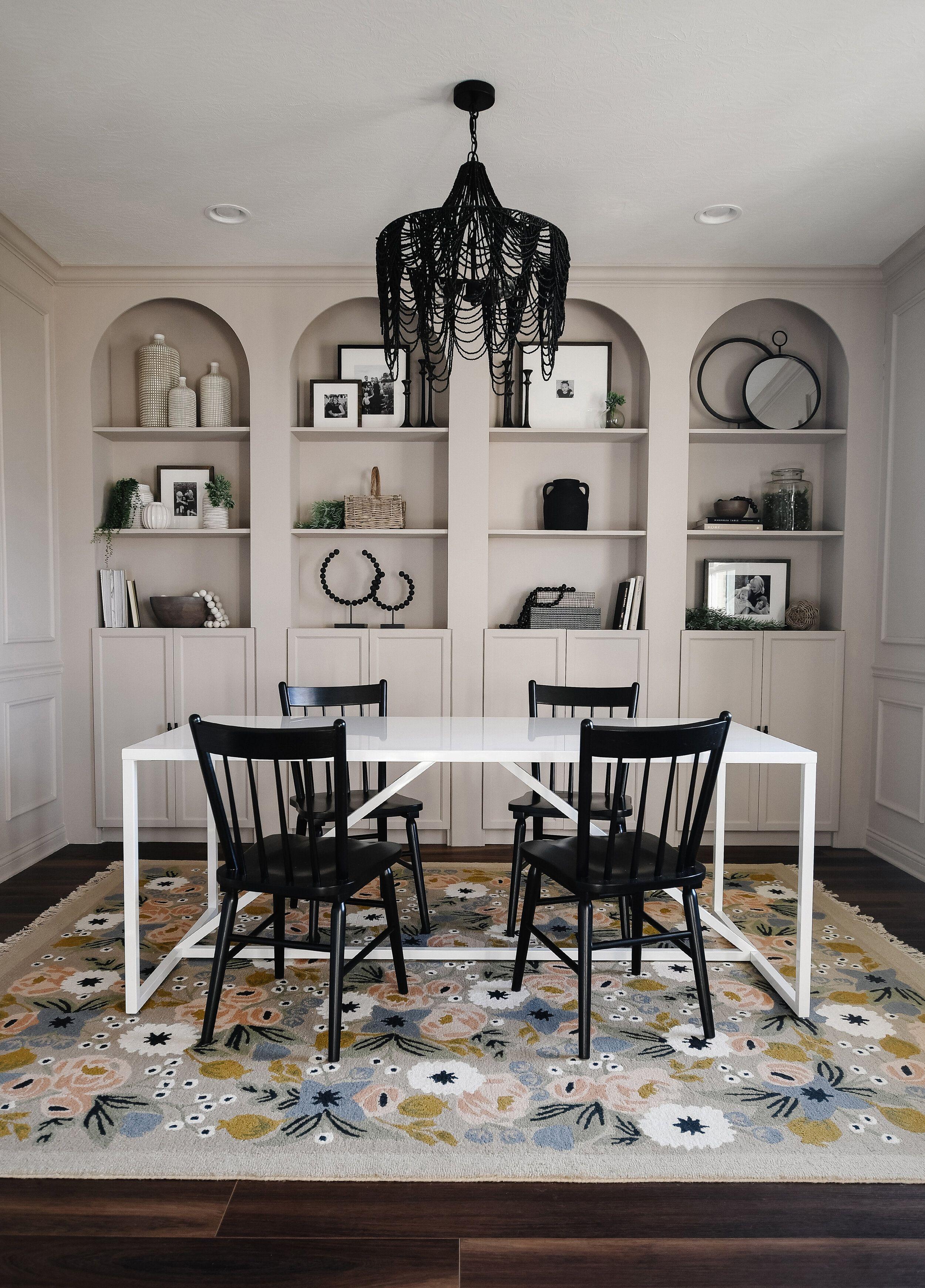 DIY Arched Bookshelves (IKEA Billy hack