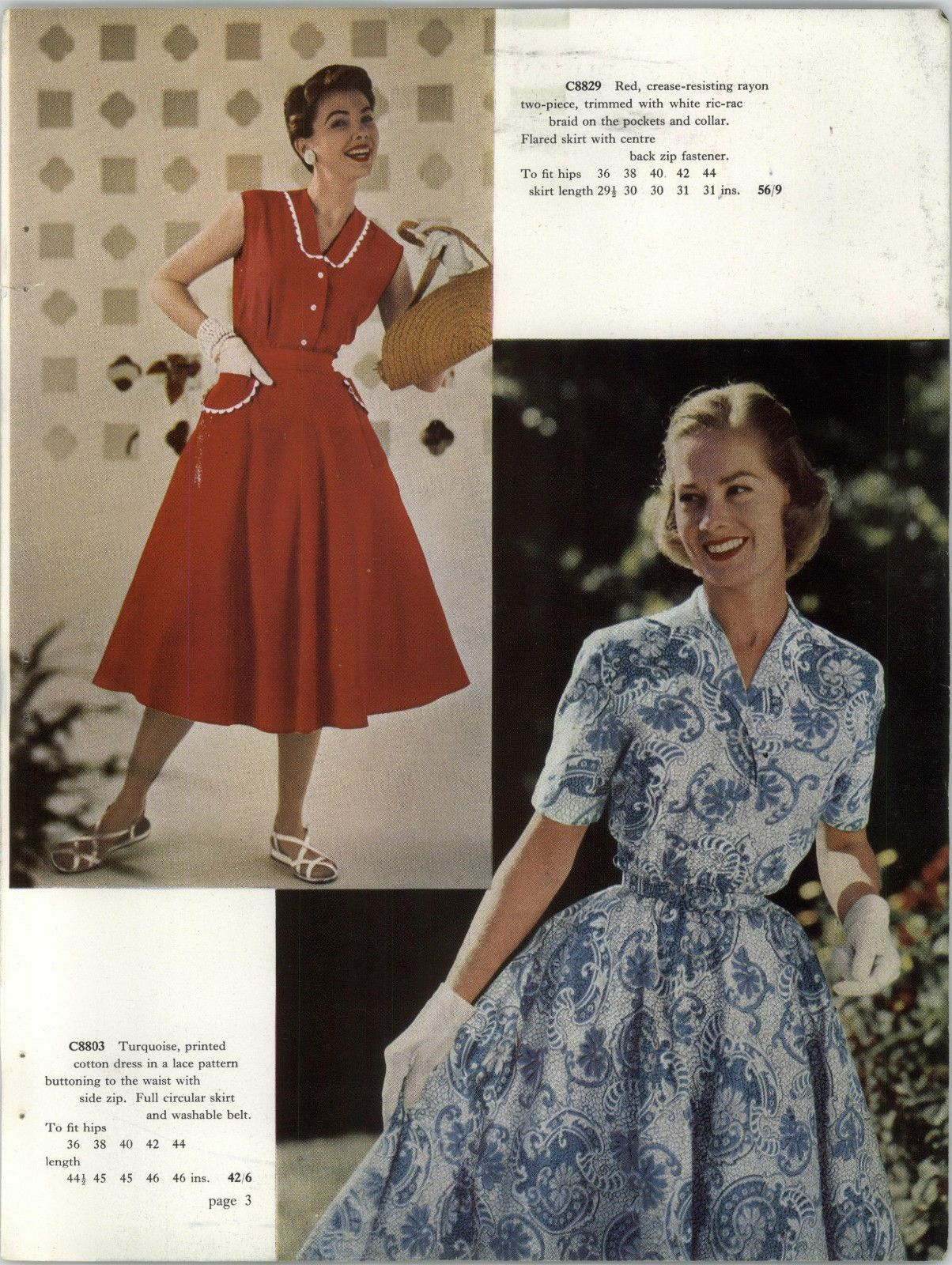 Freemans 1955 Spring Summer Mail Order Catalogue On Dvd