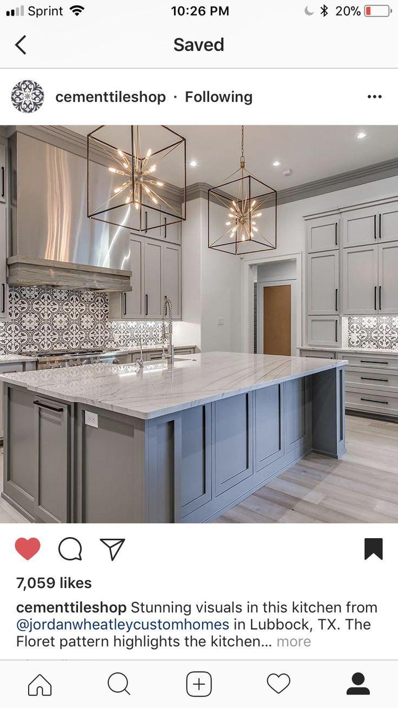 Backsplash Modern Farmhouse Kitchens Home Decor Kitchen Kitchen Design