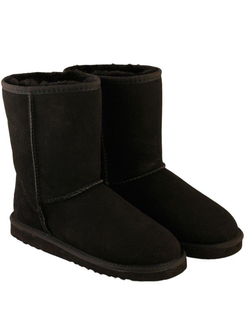 066ef2b3f11 UGGYS Classic Midi Ugg Boots - Black $179.95 | UGGYS for Men | Ugg ...