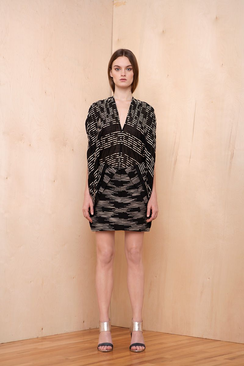 The cocoon silhouette came full circle (pun intended) in the pre-fall collections.    Zero + Maria Cornejo
