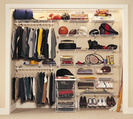 17 Best images about Wire Shelving on Pinterest   Fishing rod storage   Shelves and. Wire Shelving Closet Organizer   Winda 7 Furniture