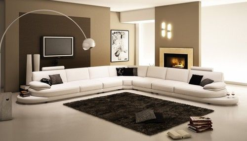 Small White Leather L Shaped Couch Google Search