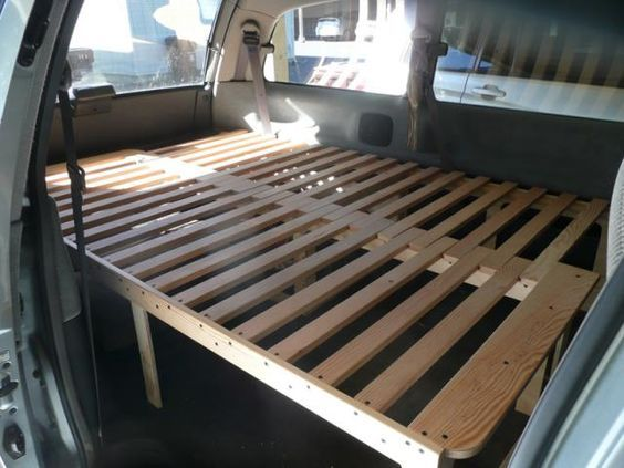 Vw Camper Uitschuifbaar.Uitschuifbaar Camper Bed Dubbel 2 Personen 92 Toyota Previa