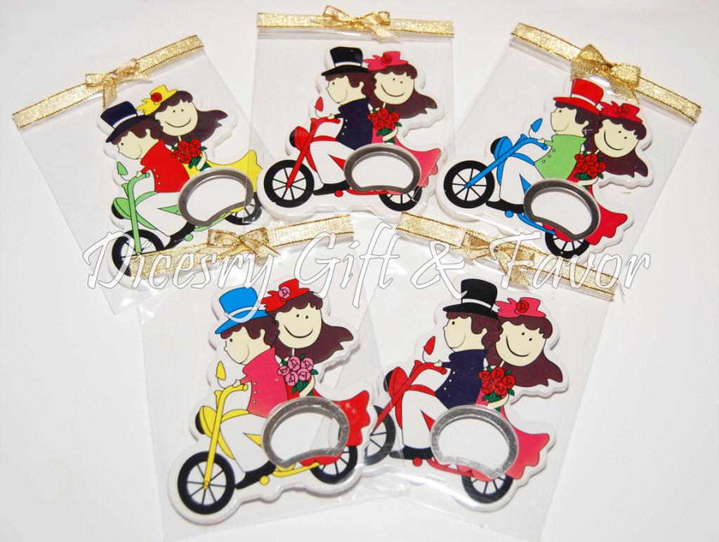 Couple Fridge Magnet Bottle Openers | wedding | Pinterest | Magnets ...