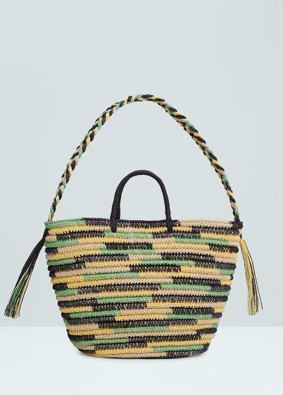 Bags for Women | MANGO USA | The Beach Bag | Pinterest | Bag