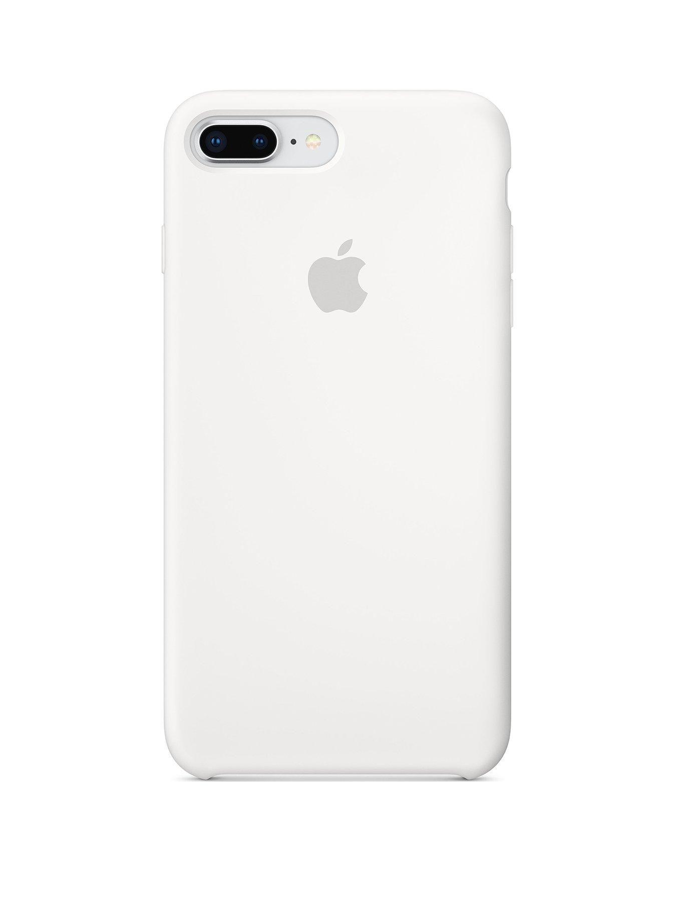iPhone 8 Plus / 7 Plus Silicone Case - White | Silicone iphone ...