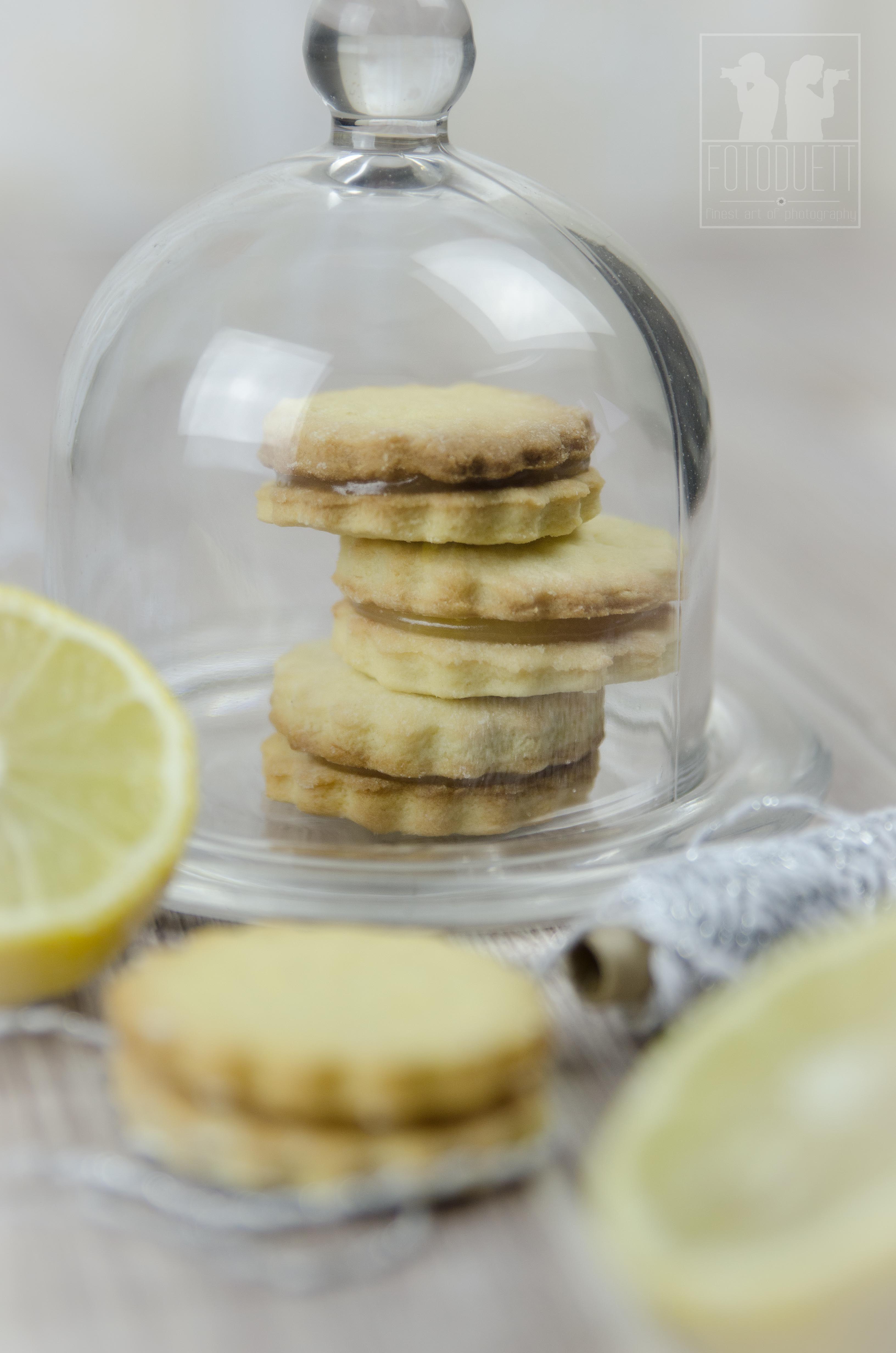 Lemon Curd Plätzchen