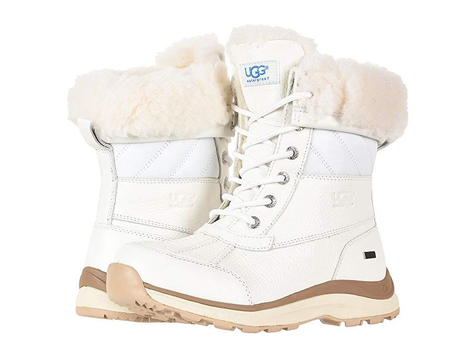 624c9953df5 UGG Adirondack Quilt Boot III Women's Cold Weather Boots White ...