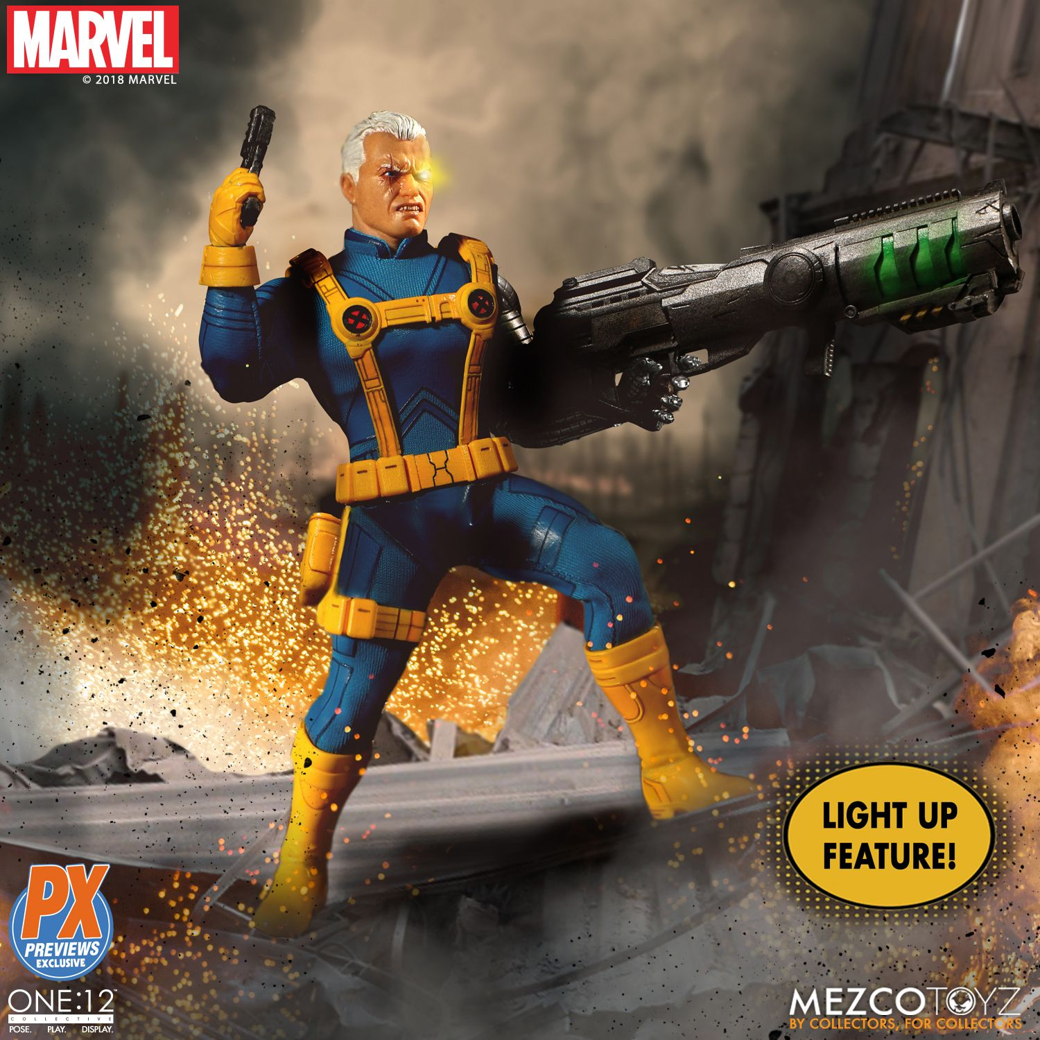 Exclusive One 12 Collective Cable X Men Variant Figure Up For Order Marvel Toy News In 2020 Marvel Toys X Men X Men Costumes